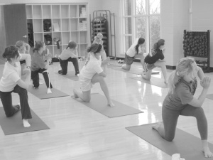 Yoga Fusion, which combines many techniques to achieve fitness, is just one of many classes offered at the Beck Center.